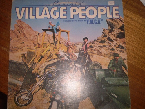 vinilo lp village people   (u624