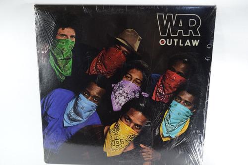 vinilo lp war - outlaw original sellado usa de la época!