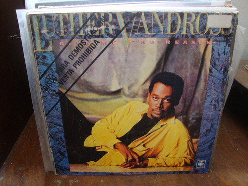 vinilo luther vandross give me the reason p2