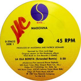 Vinilo Madonna La Isla Bonita Maxi Usa 1987 Tapa Generica