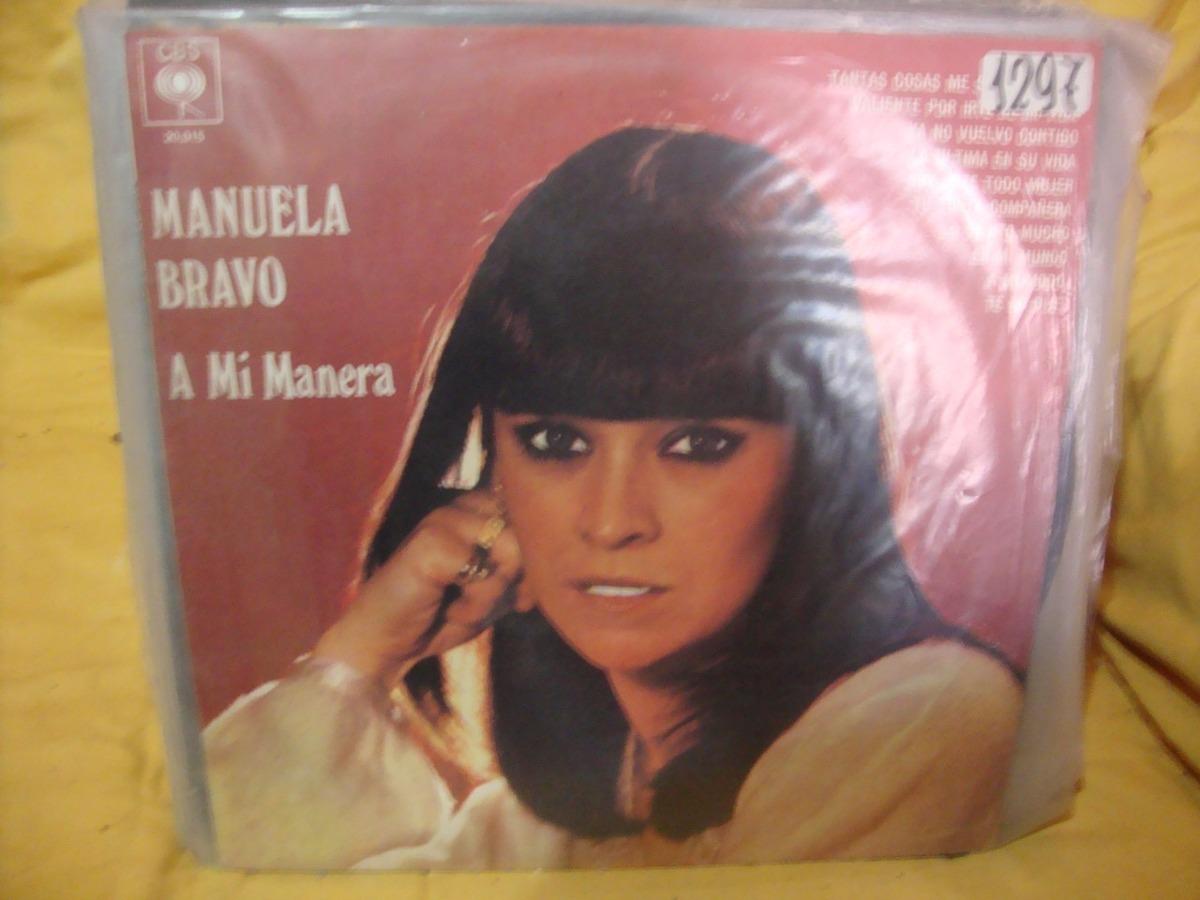 c64dd5bc27120 Vinilo Manuela Bravo A Mi Manera P3 -   880,00 en Mercado Libre