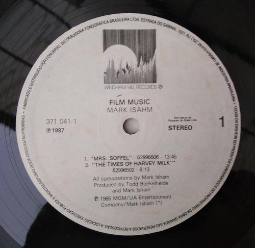 vinilo mark isham - film music