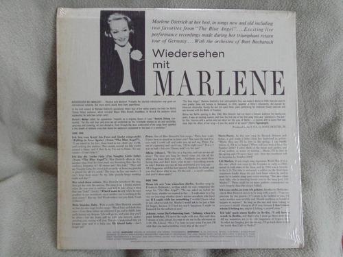 vinilo marlene dietrich the great dietrich sings in german