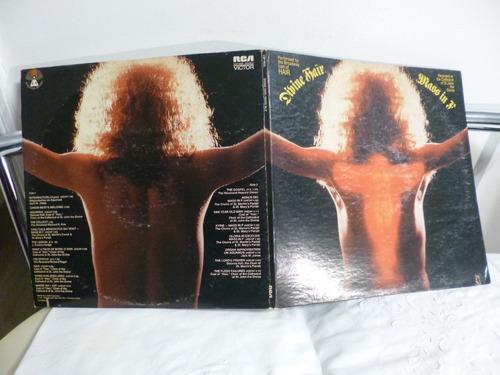 vinilo mass in f - divine hair - 1971