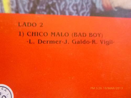 vinilo maxi singl de miami sound machine  - chico malo (u373