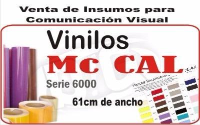 vinilo mccal 100x61cm adhesivo 6 años diginsumosgraficos