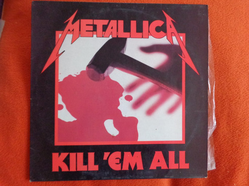 vinilo metallica kill em all 1990 metal