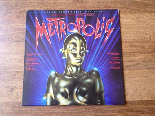 vinilo - metropolis - banda sonora