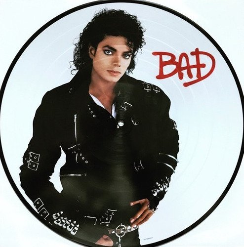 vinilo  michael jackson  -  bad  -  picture disc  -  new *