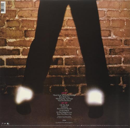 vinilo : michael jackson - off the wall (gatefold lp jacket)