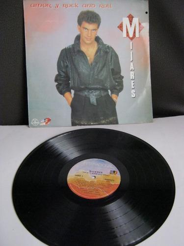 vinilo mijares-amor y rock and roll