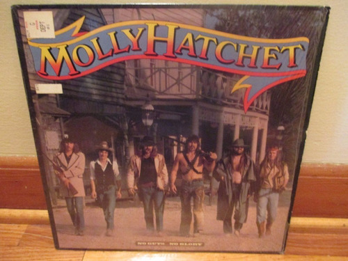 vinilo molly hatchet - no guts...no glory ( 1983 )