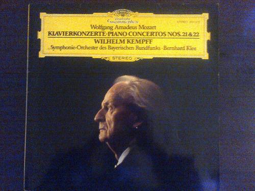 vinilo mozart - klavierkonzerte- piano concertos 21 & 22