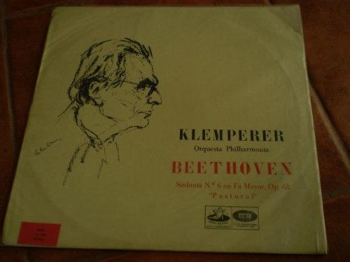 vinilo  musica beethoven-- klemperer (1105)