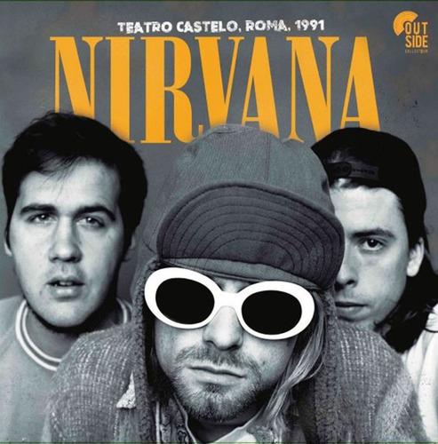 vinilo nirvana teatro castelo roma 1991 lp
