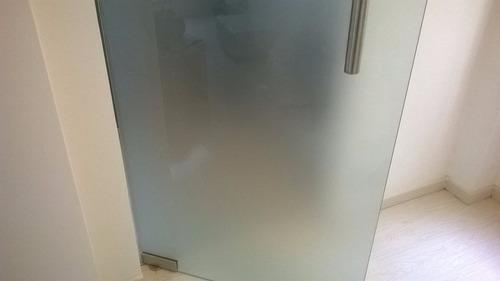 vinilo opaco difuso esmerilado p vidrios ancho 1,2m x metro