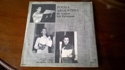 vinilo original de poesia argentina de todos los tiempos
