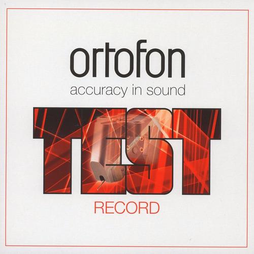 vinilo ortofon test record 15-track fine pressing denmark