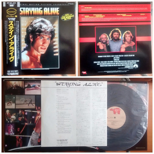 vinilo ost - staying alive (1983)