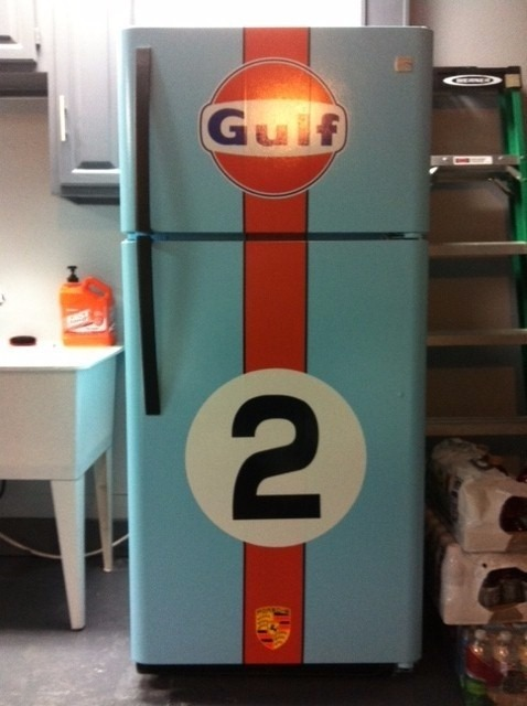 Vinilo para heladera autoadhesivo calidad fotos logos for Garage sena auto