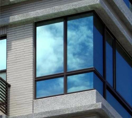 vinilo para ventanas espejado plata vidrios  rollo 10mt-ofer