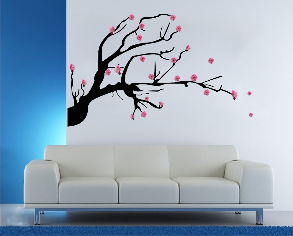 Arboles de vinilo para pared vinilo decorativo para pared - Decoracion vinilo pared ...