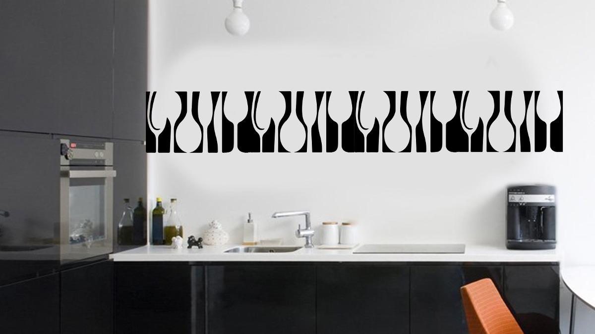 Vinilo Pared Guarda Cocina Decoracion Wall Stickers - $ 334,59 en ...