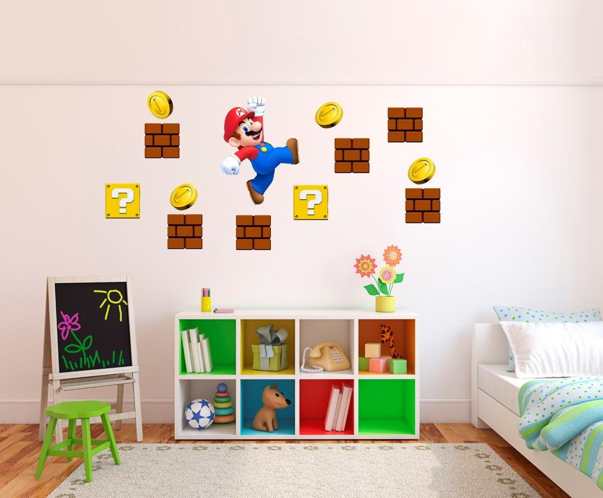Vinilo pared infantiles mario bros decoracion wall stickers vinilo pared infantiles mario bros decoracion wall stickers cargando zoom amipublicfo Gallery