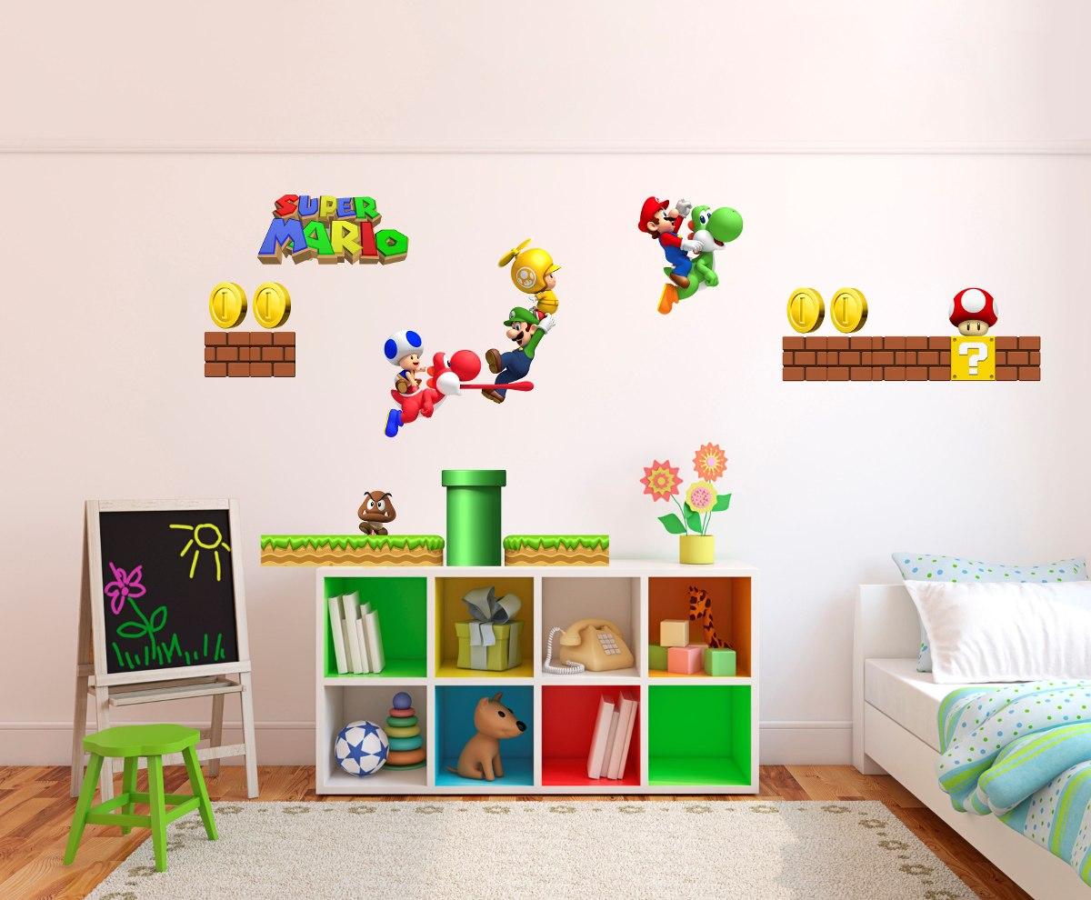 Vinilo pared infantiles mario bros decoracion wall stickers vinilo pared infantiles mario bros decoracion wall stickers amipublicfo Gallery