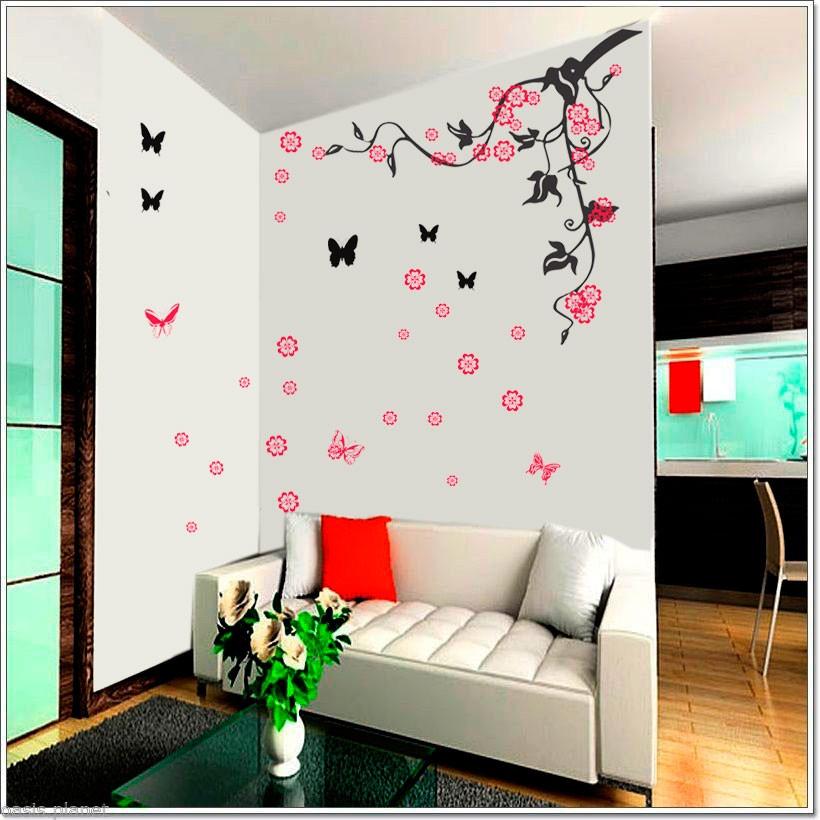 Vinilos mariposas para pared vinilos mariposas para pared for Stickers decorativos de pared