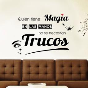 Vinilo Pared Peluqueria Frase Wall Stickers