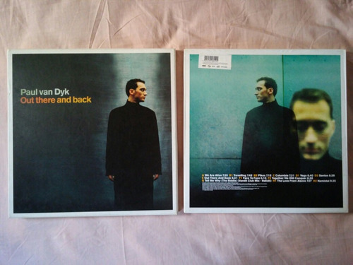 vinilo paul van dyk - out there and back 4x12'' box alemania
