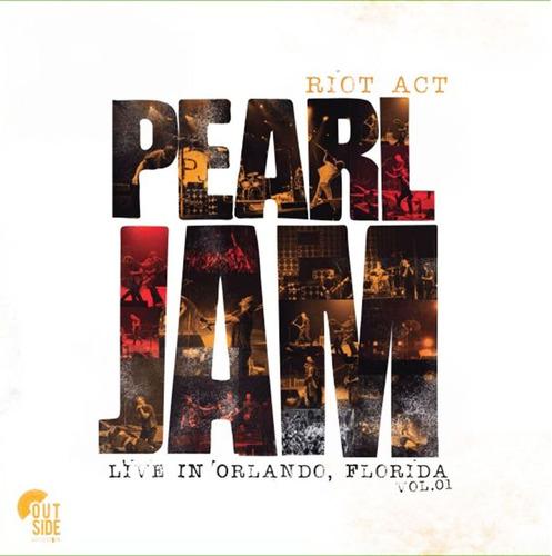 vinilo pearl jam live in orlando florida vol 1 lp