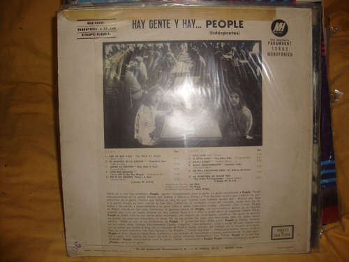 vinilo people hay gente y hay people p2