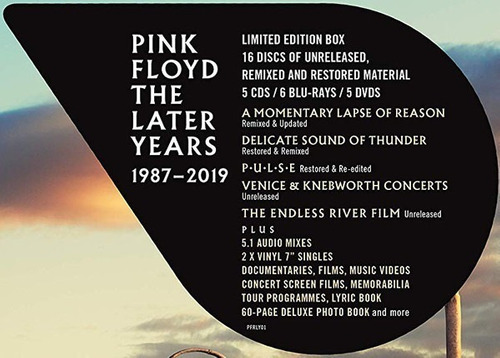 vinilo pink floyd box the later years 1987 - 2019 sellado