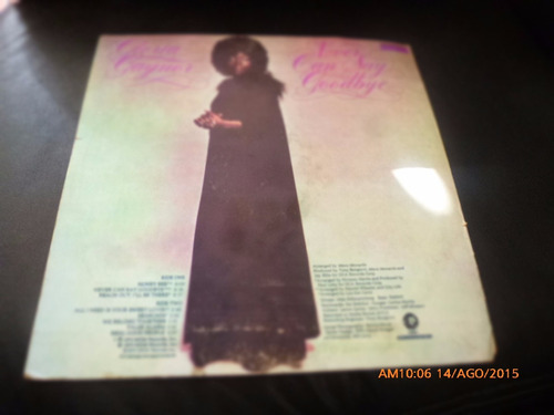 vinilo pl de gloria gaynor --never can say goodbye (1392