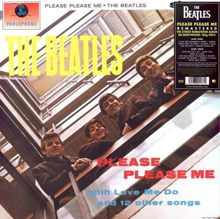 vinilo please please me - the beatles