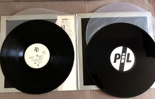 vinilo public image ltd. - second edition (japón 1990 doble)