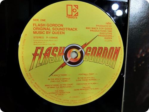 vinilo queen: flash gordon