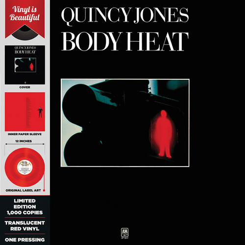 vinilo : quincy jones - body heat (red translucent vinyl)...