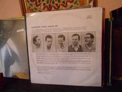 vinilo quinteto vocal santa fe musica para todos