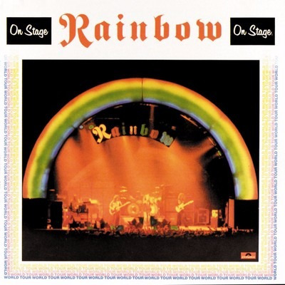 vinilo - rainbow - on stage
