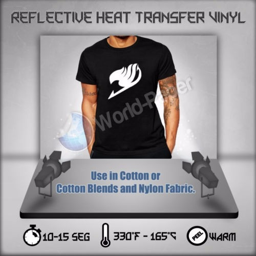 vinilo reflectivo termo-transferible (1m x 50cm)