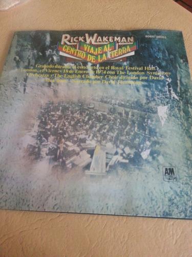 vinilo rick wakemann viaje al centro de la tierra