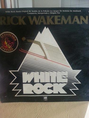 vinilo rick wakemann    white rock