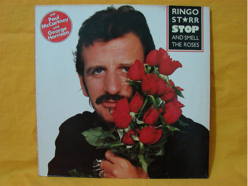 vinilo ringo starr stop and smell the roses lp paul beatles