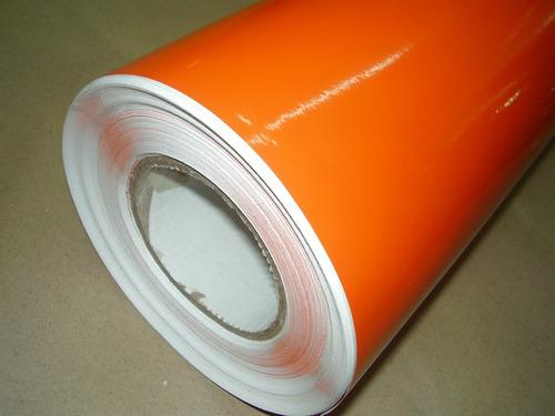 vinilo rmax naranja  ancho 0.6 0 cm (vta paq x 5 mts.) 2007