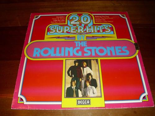 vinilo rolling stones 20 super hits