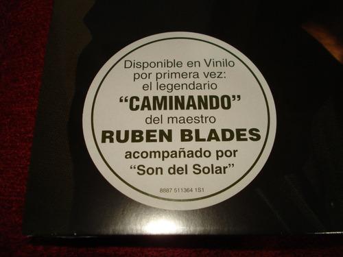 vinilo ruben blades / caminando (nuevo y sellado)