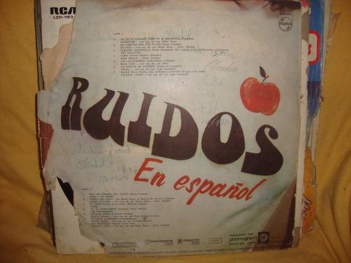 vinilo ruidos en español rama y su combo art sullivan raval